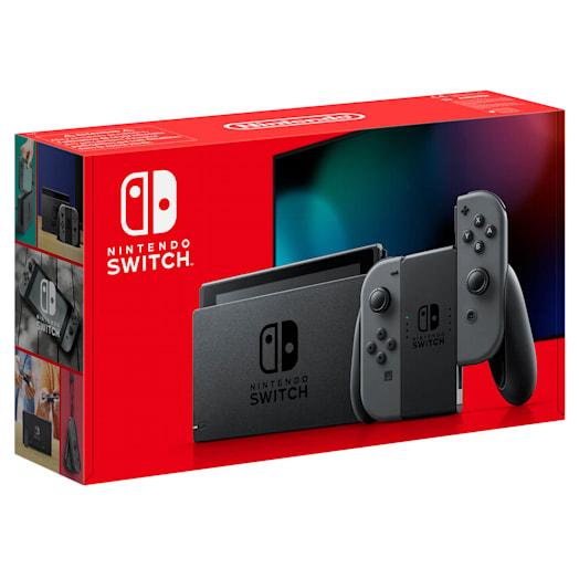 Nintendo Switch (Grey) Mario Golf: Super Rush Pack