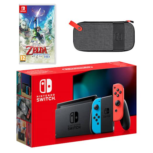 Nintendo Switch (Neon Blue/Neon Red) The Legend of Zelda: Skyward Sword HD Pack