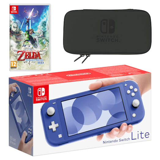 Nintendo Switch Lite (Blue) The Legend of Zelda: Skyward Sword HD Pack