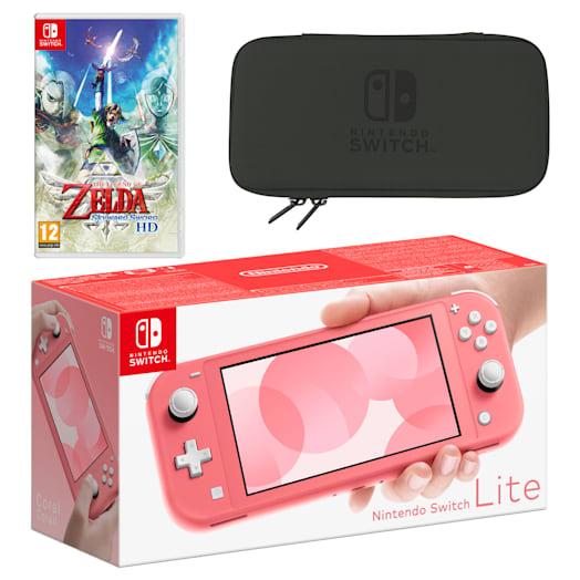 Nintendo Switch Lite (Coral) The Legend of Zelda: Skyward Sword HD Pack