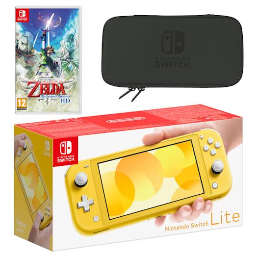 Nintendo Switch Lite (Yellow) The Legend of Zelda: Skyward Sword HD Pack image 1