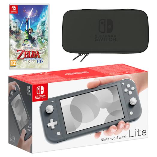 Nintendo Switch Lite (Grey) The Legend of Zelda: Skyward Sword HD Pack image 1