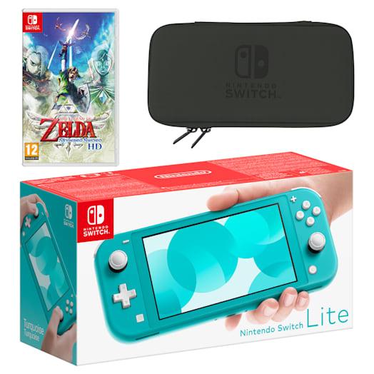 Nintendo Switch Lite (Turquoise) The Legend of Zelda: Skyward Sword HD Pack