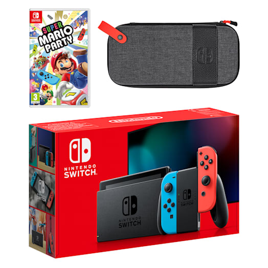 Nintendo Switch (Neon Blue/Neon Red) Super Mario Party Pack image 1