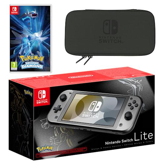 Nintendo Switch Lite Pokémon Dialga & Palkia Edition Pokémon Brilliant Diamond Pack