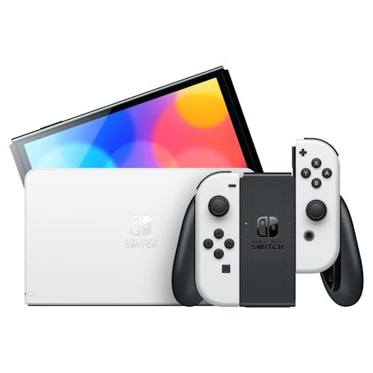Nintendo Switch – OLED Model (White) Super Mario 3D World + Bowser's Fury Pack