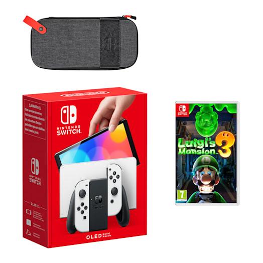 Nintendo Switch – OLED Model (White) Luigi's Mansion 3 Pack