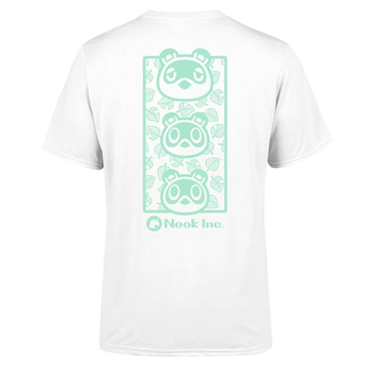 Nook Inc. T-Shirt (Adults) - Animal Crossing: New Horizons Pastel Collection image 2