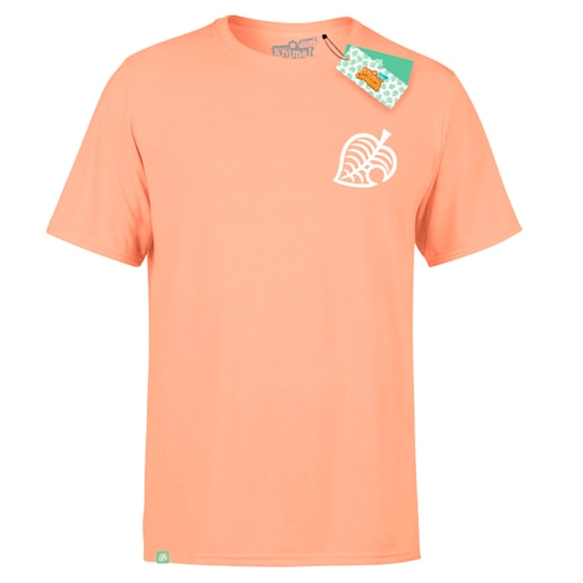 Isabelle T-Shirt (Adults) Coral - Animal Crossing: New Horizons Pastel Collection