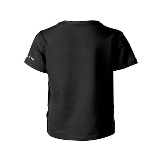 Fire Mario Black T-Shirt (Kids) - Super Mario Bros. 35th Anniversary image 2