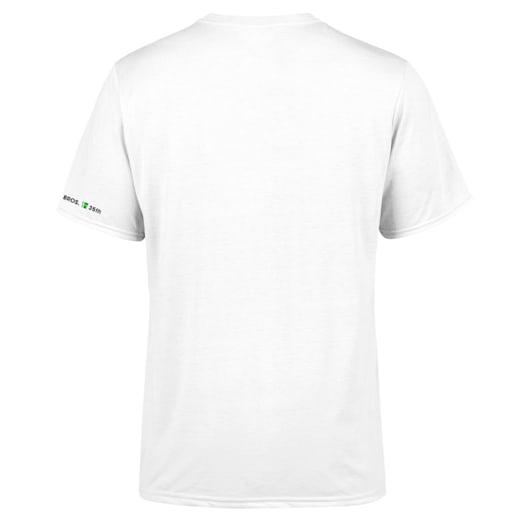 Fire Mario White T-Shirt (Adults) - Super Mario Bros. 35th Anniversary image 2