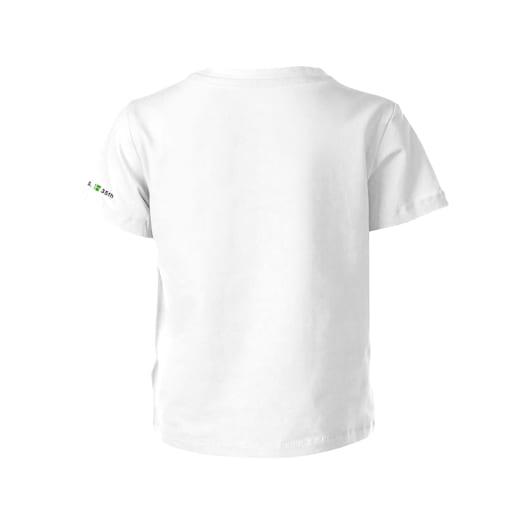 Fire Mario White T-Shirt (Kids) - Super Mario Bros. 35th Anniversary image 2