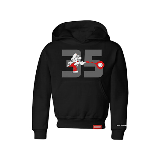 Fire Mario Hoodie (Kids) - Super Mario Bros. 35th Anniversary image 1