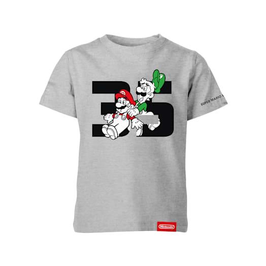 Mario and Luigi T-Shirt (Kids) - Super Mario Bros. 35th Anniversary