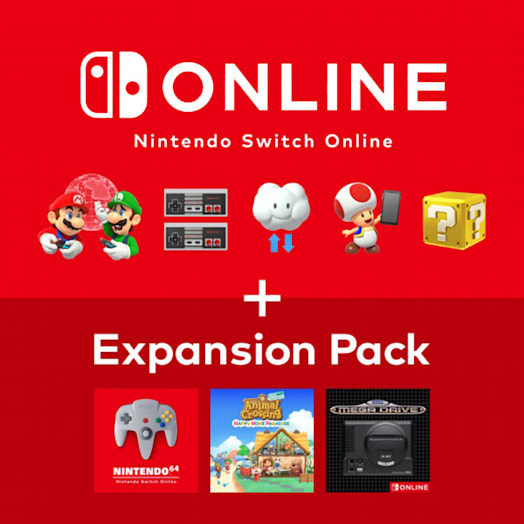 Nintendo Switch Online + Expansion Pack Membership