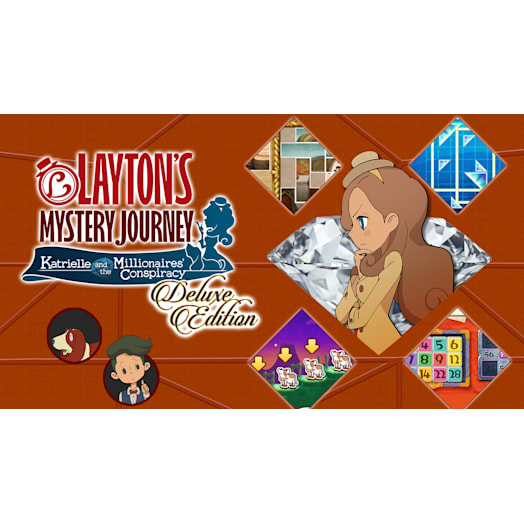 Layton's Mystery Journey™: Katrielle and the Millionaires' Conspiracy Deluxe Edition image 2