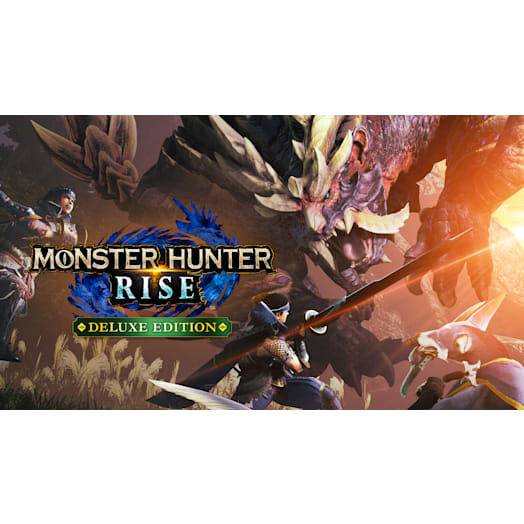 Monster Hunter Rise Deluxe Edition image 2