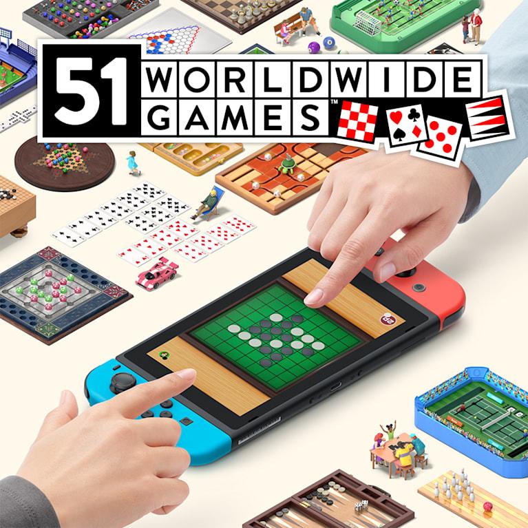 Main illustration for 51 Worldwide Games
