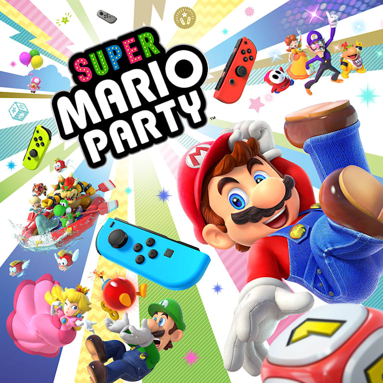 Main illustration for Super Mario Party
