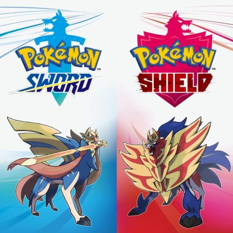 Main illustration for Pokémon Sword and Pokémon Shield