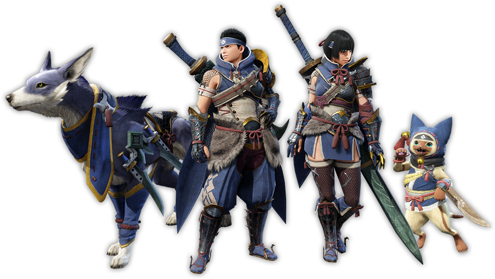 MonsterHunterRise_NewHunt_Paw_Character.png